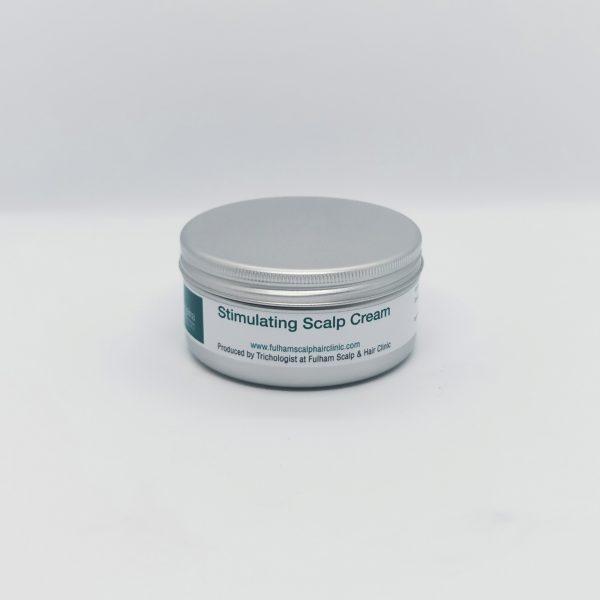 100ml aluminium tin of stimulating scalp cream for hair loss conditions
